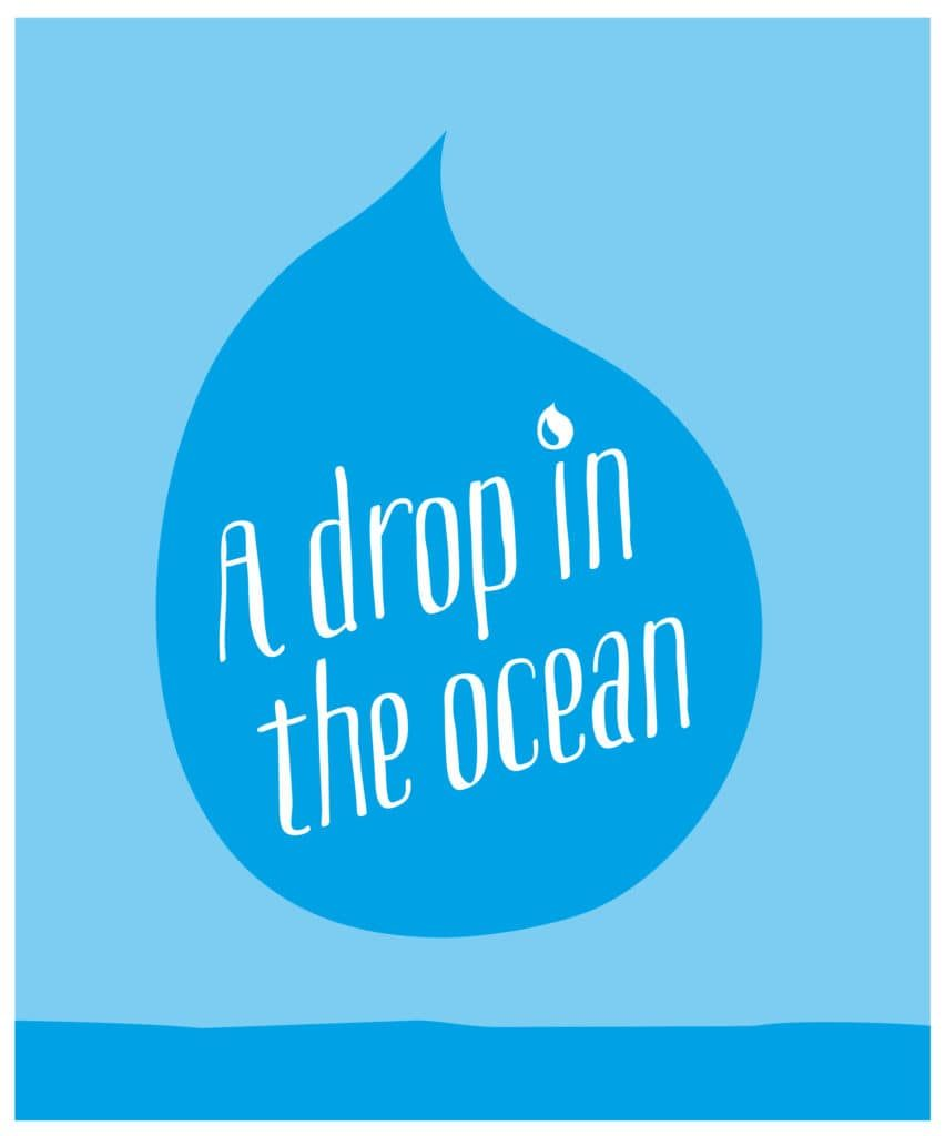 a Drop in the ocean - logo