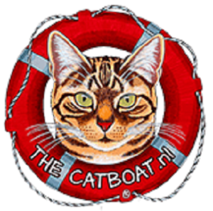 Poezenboot catboat logo