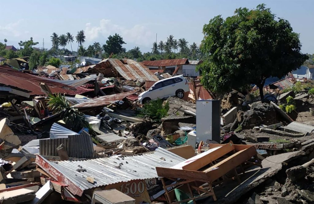 Indonesia earthquake and tsunami disaster